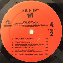 V.A.:JACKIE BROWN(LABEL SIDE-B)