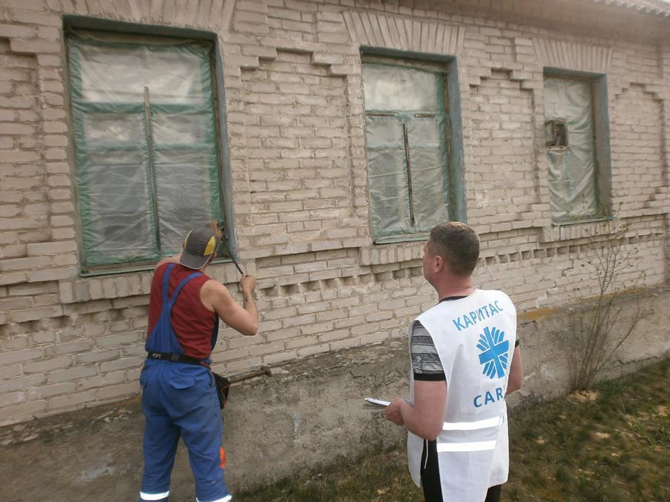 """Закінчення другого етапу проекту """"Підготовка до зими в буферній зоні Луганської області"""""""