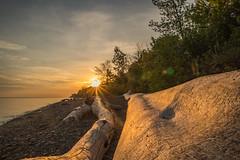 Sunrise Lake Erie Bluffs