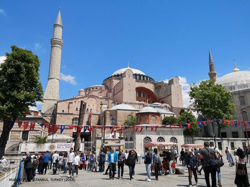2018 Day 2 Turkey Istanbul Hagia Sophia 1