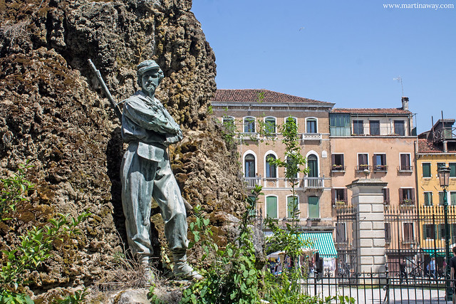 Monumento a Garibaldi ai Giardini della Biennale