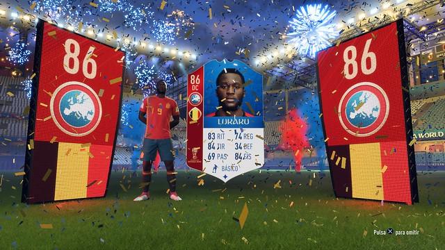 FIFA 18 Central FUT (en los menús)