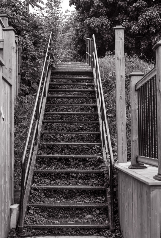 Canal St. Sidewalk Stairs