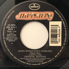 CRYSTAL WATERS:GYPSY WOMAN(LABEL SIDE-A)