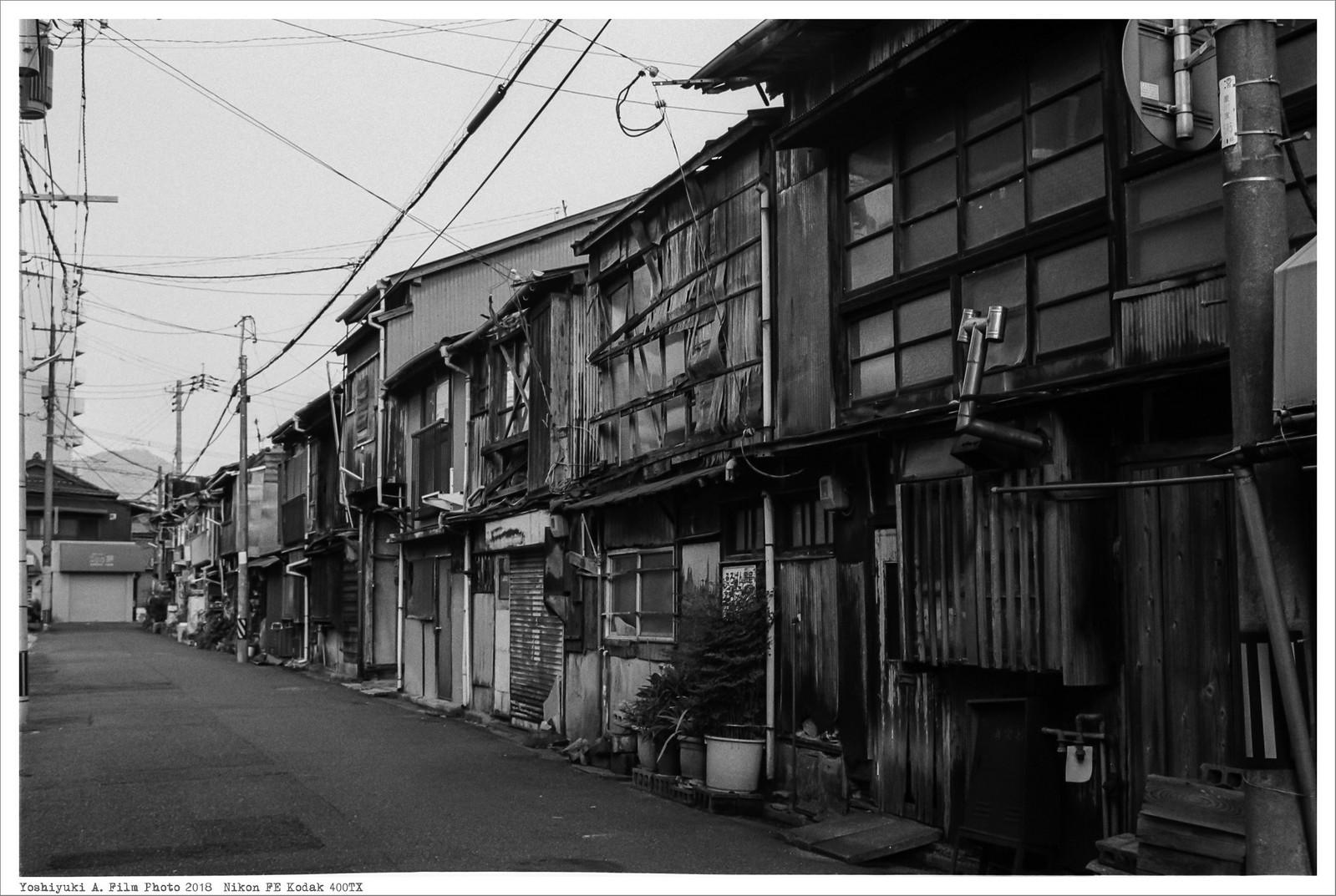 北九州市小倉 到津市場 Nikon_FE_Kodak_400TX__55