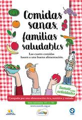 """Campaña """"Comidas saludables, Familias Sanas"""""""