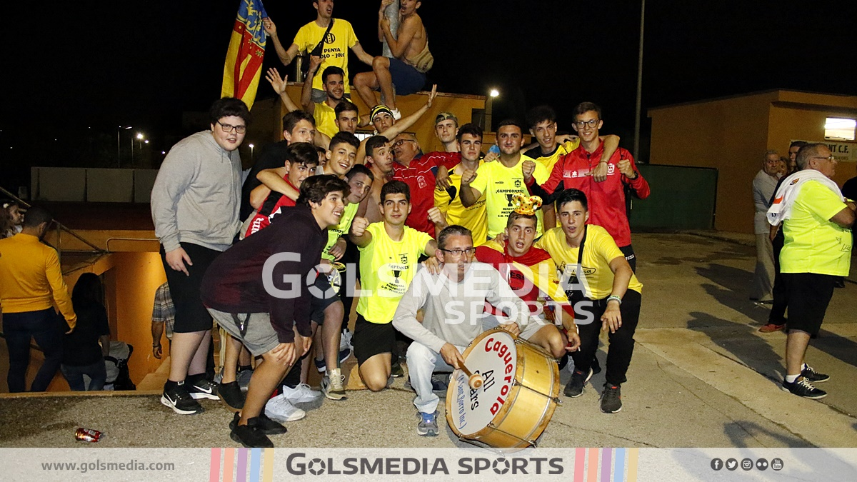 Vilamarxant - Dénia 0-2 (partido de vuelta ascenso a Tercera) Ra