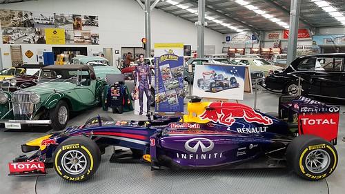 Daniel Riccardo's RB 10 F1, 2014 at WA Motor Museum at Whiteman Park, WA