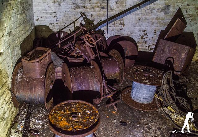 Lost Places: Gussstahl und Drahtseilfabrik