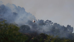 San Rafael Hill Brush Fire, Jun 2018
