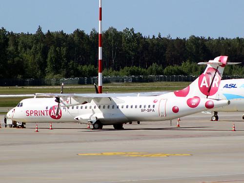 SP-SPA ATR-72 Sprint Air Riga-Skulte 21-05-18