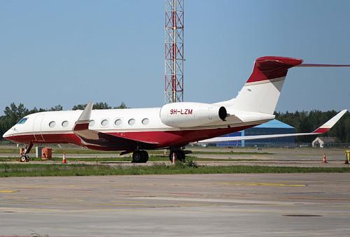 9H-LZM Gulf 650 Riga-Skulte 21-05-18