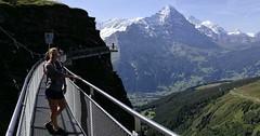 First Cliff Walk, Bachalpsee a First Glieder