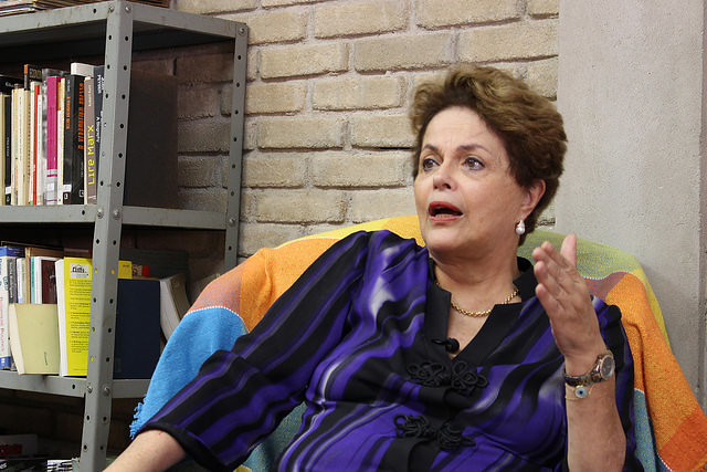 Dilma Rousseff visited the Florestan Fernandes National School in São Paulo this Monday (11) - Créditos: Leonardo Fernandes