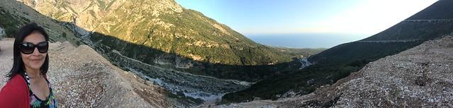 Panorama near Dhermi, Albania 01