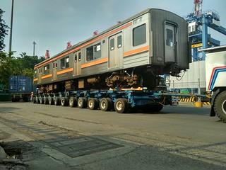Japan Railways 205; Port of Tanjung Priok