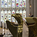 Eagle lectern, Bath Abbey, Somerset, UK