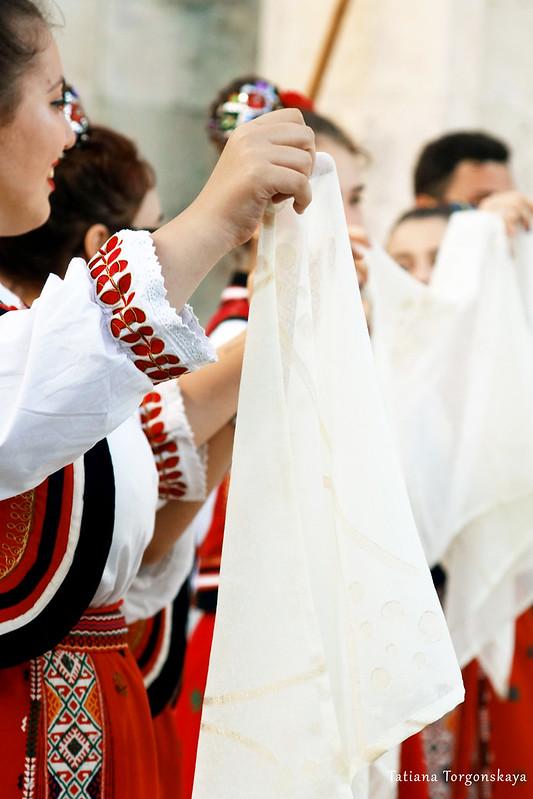 Танец румынской фольклорной группы