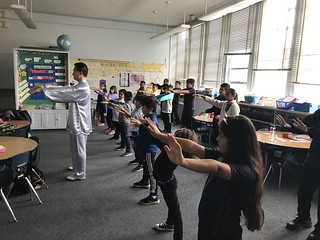 June 06 '18 Tai Chi demonstration at Empower Charter School