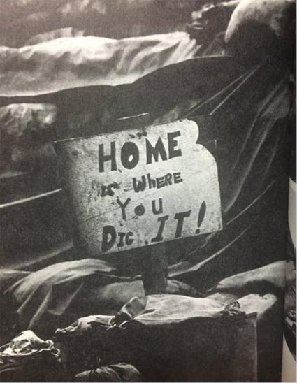 Vietnam ca 1968 Home is where you dig it David Douglas Duncan