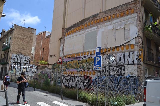 Barcelona Junio 2018. Fotos de zeroanodino para URBANARTIMAÑA