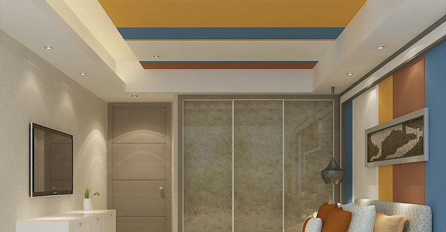 geometric false ceiling from gyproc