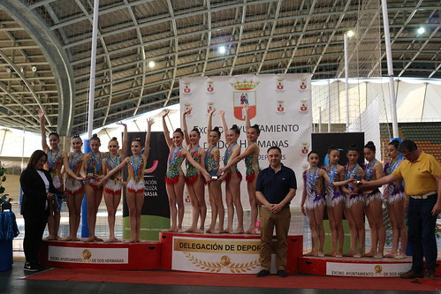 Gimnasia rítmica campeona de Andalucía