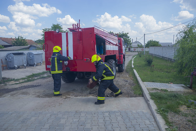 Rescue and Fire Station of Copanca was renovated with EU support