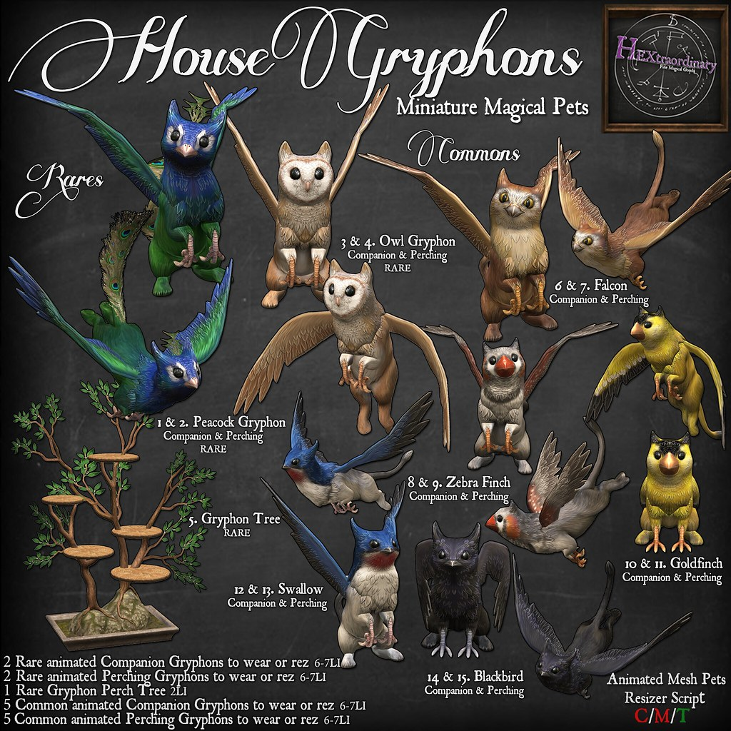 HEXtraordinary House Gryphon Gacha Key @ The Arcade! June 2018 - TeleportHub.com Live!