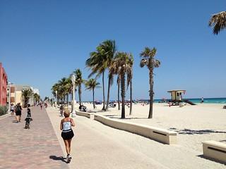 Hollywood Beach Florida Broadwalk