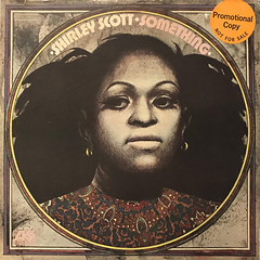 SHIRLEY SCOTT:SOMETHING(JACKET A)