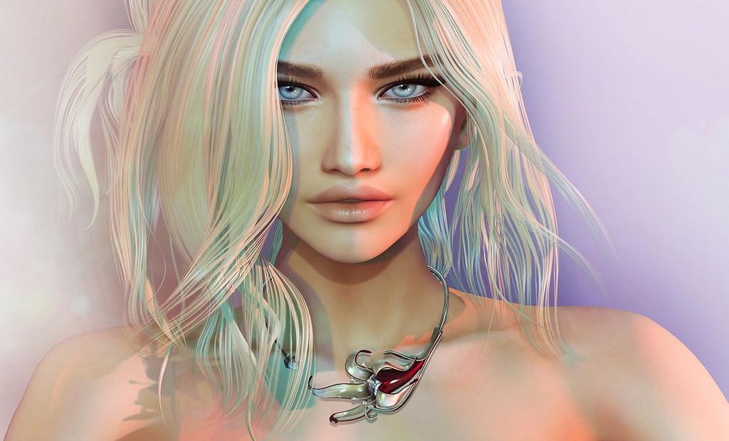 KUNGLERS Rosalia necklace AD