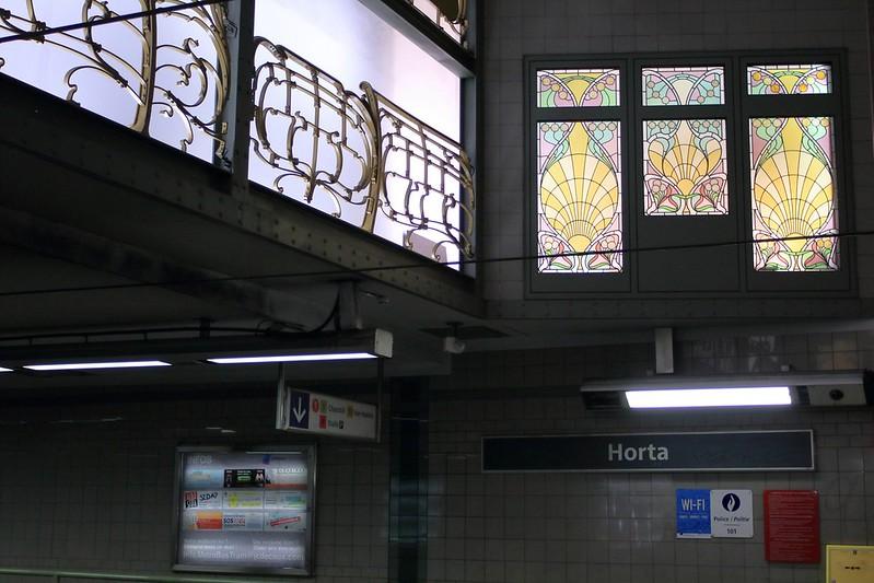 Horta tram stop