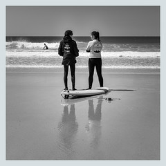 Causerie entre Surf-moniteurs