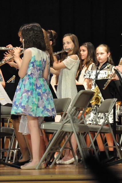5th Grade band concert