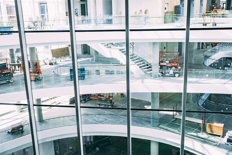 Tepper Quad Construction Gallery