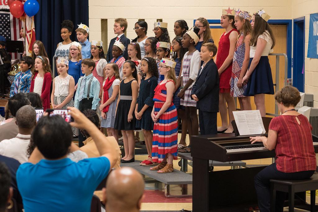 Patriotic chorus