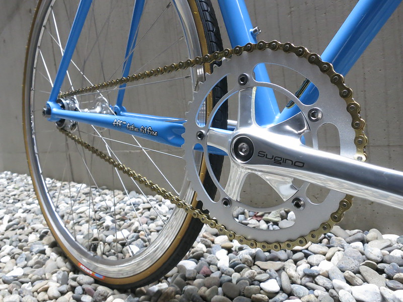 SURLY Steamroller Blue Crank
