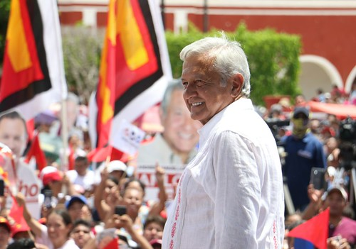 AMLO en Yucatán y Campeche (13-14 de junio 2018)