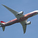 VH-ZND Boeing 787-9 Dreamliner, Qantas, Runnymede Memorial, Englefield Green, Surrey