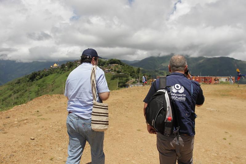 Visita a zonas afectadas por emergencia de Hidroituango