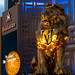 Vegas Golden Knights - MGM Grand Lion by James Marvin Phelps