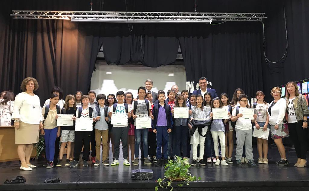 """Los alumnos de 5º de primaria del Colegio Virgen de Argeme ganan el IV Certamen """"Aprendo a Cocinar con..."""""""