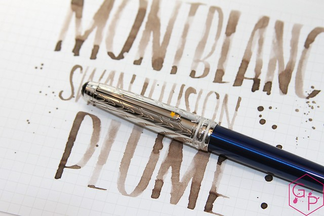 Montblanc Swan Illusion Plume Ink Review @AppelboomLaren @Montblanc_World 24