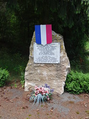 2018-06-09 - Rando à Chamelet (25), Monument aux résistants, vers le col de la Croix du Thel - Photo of Saint-Appolinaire