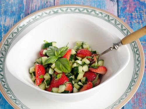 Erdbeer-Gurken-Salat (2)
