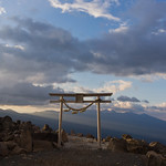 4. Mai 2018 - 5:41 - Taken at the top of  Kurumayama  mountain, Nagano Japan. (Kurumayama Shrine 車山神社)