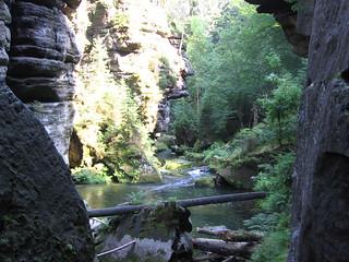 Údolí Kamenice pod Meznou