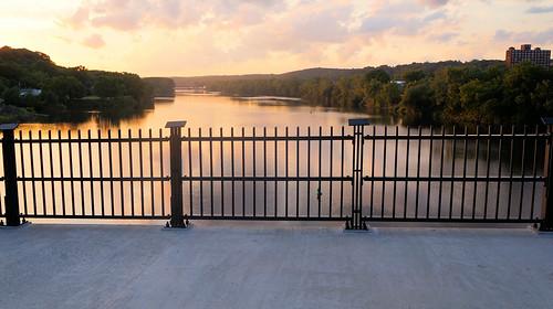 amsterdam ny montgomery county mohawk valley gateway overlook pedestrian bridge river