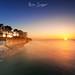 Bassin d'Arcachon Sunset by Njones03